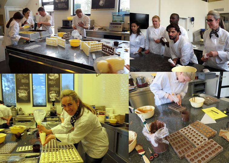 Carolien Krijnen at the Callebaut Academy
