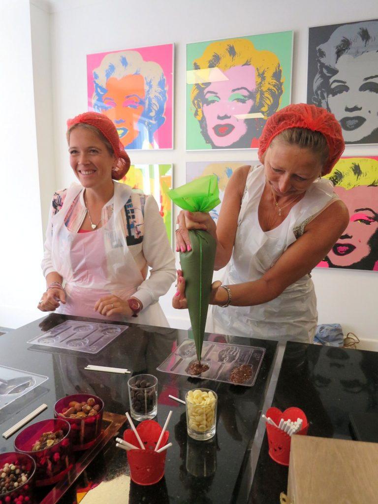 Chocoladeworkshops in Antwerpen bij Chocalicious met Carolien Krijnen