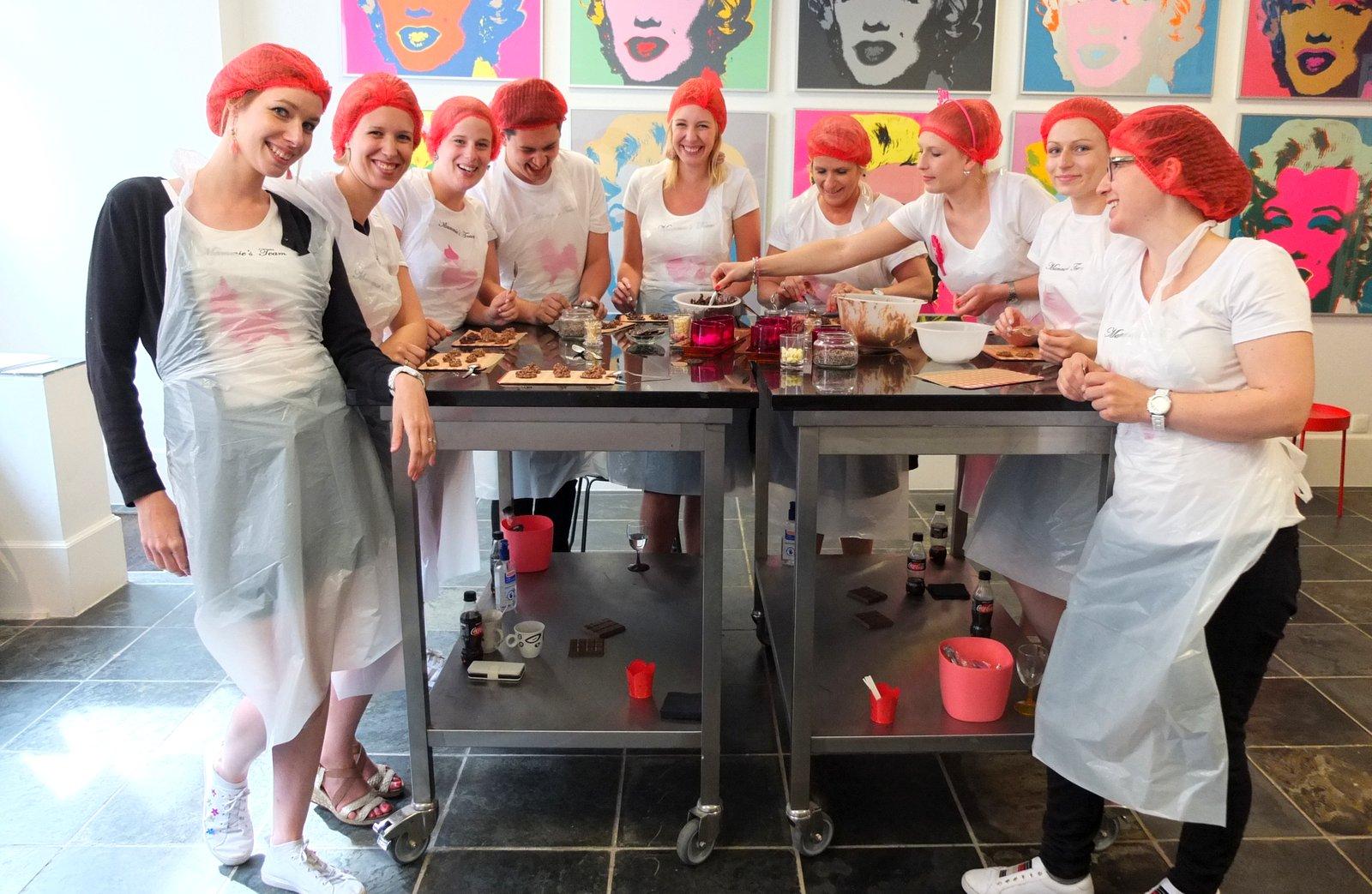 Chocoladeworkshops In Antwerpen Bij Chocalicious