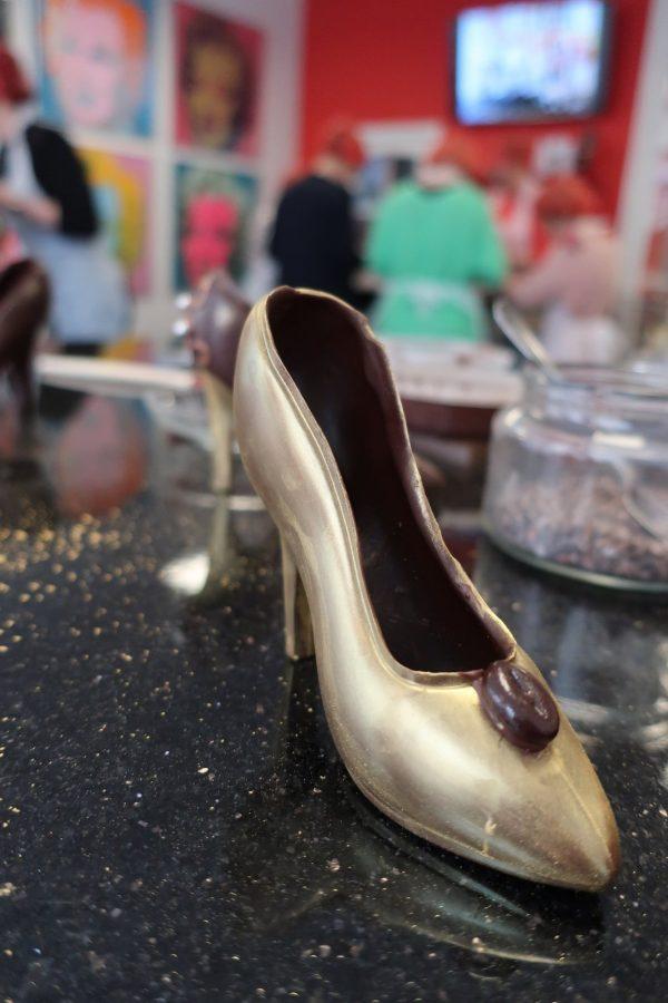Chocoladeworkshop Gouden Schoen bij Chocalicious