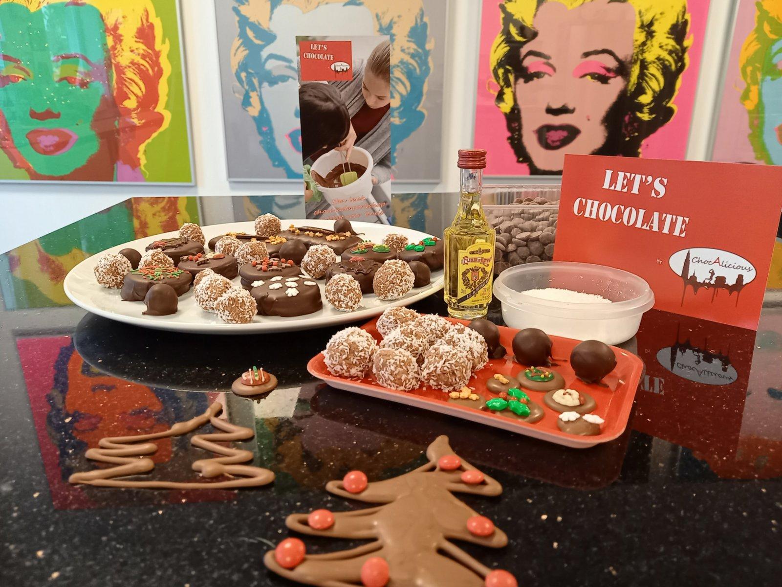 Happy Let's Chocolate DIY pakket